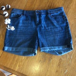 New York & Company Jean Shorts